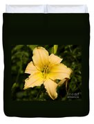 Lily For A Day Duvet Cover