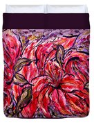 Lily Glow Duvet Cover