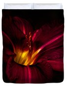 Lily Number Nine Duvet Cover by Bob Orsillo