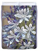 Lily Of The Nile Duvet Cover