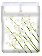 Lily-of-the-valley Flowers Duvet Cover