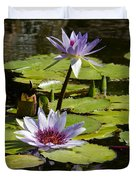 Lily Pad Duvet Cover