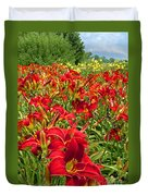 Lily Patch Duvet Cover