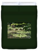Lily Pond View Monets Garden Duvet Cover