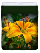 Lily Sunshine Duvet Cover