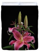 Lily With Buds Duvet Cover
