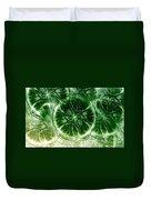 Lilypad - Fractal Duvet Cover