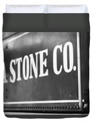 Lima Stone Co Duvet Cover