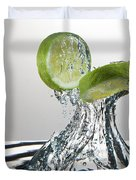 Lime Freshsplash Duvet Cover