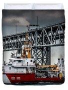 Limnos Coast Guard Canada Duvet Cover