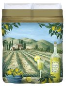 Limoncello Duvet Cover by Marilyn Dunlap