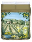 Limoncello Duvet Cover