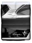 Lincoln Capri Emblem Duvet Cover by Jill Reger