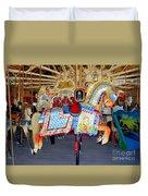 Lincoln Centennial Horse Duvet Cover