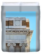 Lincoln County Courthouse Corner Duvet Cover