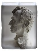 Lincoln-honest Abe Duvet Cover