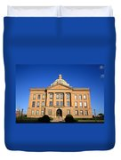 Lincoln Illinois - Courthouse Duvet Cover