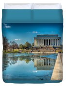Lincoln Memorial Reflection Duvet Cover