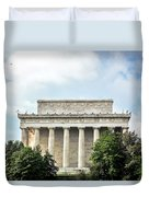Lincoln Memorial Side View Duvet Cover