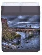 Lincoln Street Bridge 2013 Duvet Cover