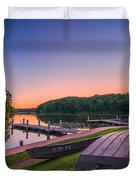 Lincoln Trail State Park Duvet Cover