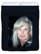 Linda Evans 1991 Duvet Cover