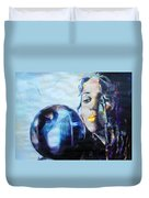 Linda Perry - 4 Non Blondes Duvet Cover