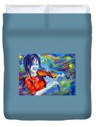 Lindsey Stirling Magic Duvet Cover