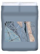 Lines - Shapes - Colors Duvet Cover