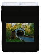 Linton Stevens Covered Bridge Duvet Cover