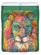 Lion Explosion Duvet Cover