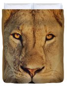 Lion Face  Duvet Cover