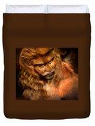 Lion Man Duvet Cover