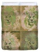 Lion X 4 One Duvet Cover