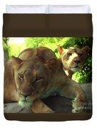 Lioness-00104 Duvet Cover
