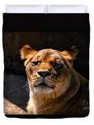 Lioness Hey Are You Looking At Me Duvet Cover