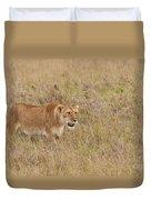 Lioness, Kenya Duvet Cover