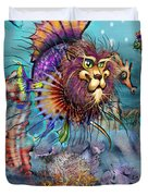 Lionfish Duvet Cover