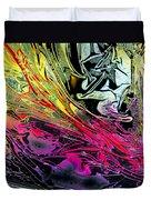 Liquid Decalcomaniac Desires 1 Duvet Cover