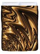 Liquid Gold Duvet Cover