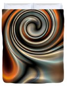 Liquid Mercury And Rust 2 Duvet Cover