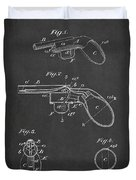 Liquid Pistol Patent Duvet Cover