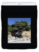 Den Of The Coastal Bigfoot Duvet Cover
