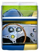 Lister Steering Wheel Duvet Cover