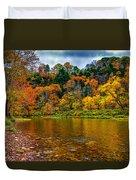 Little Beaver Creek Bend Duvet Cover