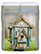 Little Birdhouse Duvet Cover