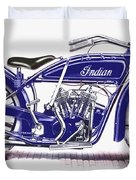 Little Blue Indian Duvet Cover
