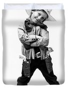 Little Buckaroo Duvet Cover