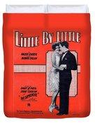 Little By Little Duvet Cover