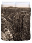 Little Colorado River Overlook Duvet Cover